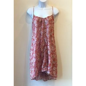 NWT: Volcom Swingy Floral Dress